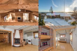 På Grannhagsvägen 3 ligger det här vinterbonade fritidshuset med utsikt mot Al- och Byrviken.