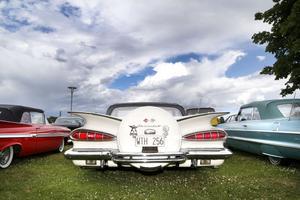 Sommarens utställning börjar närma sig. American Car Show drar igång klockan 10.00 den 13 juli. Foto: Måna J Roos