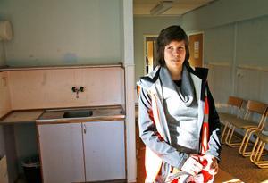 Therese Strandell är platschef på Skanska och ansvarig för ombyggnaden av Kvarnmyraskolan som ska bli gruppbostäder för funktionshindrade.