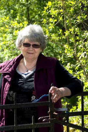 Eivor Eriksson, 70 år.