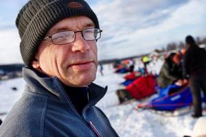 """Torbjörn Öhrströms hundar har sprungit flera hundra träningsmil. """"Jag hoppas att alla hundar kommer med till mål"""", säger Torbjörn Öhrström."""