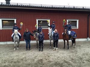 Gävle Ponnyklubb vann Elitseriens premiär i Bollnäs.