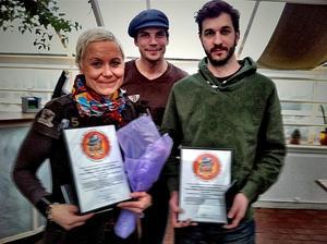 Angela Hanagarth, Pavel Koubek och Herman Nikolic var tre av NA:s fem vinnare av Murvelpriset 2012.