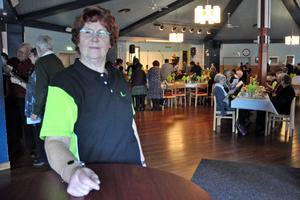 Lilian Fant, ordförande i Hedemora-Säters reumatikerförening, såg fram emot 40-årskalaset som hölls i lördags.