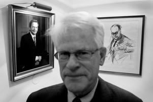 Lång uppbyggnad. Det tar lång tid att bygga det socialdemokratiska välfärdssamhället, här representerat av de tre statsministrarna Ingvar Carlsson, Olof Palme och Tage Erlander.foto: scanpix