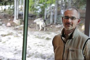 Benny Gäfvert, verksamhetschef på rovdjurscentret de 5 stora, är glad över vinsten i kategorin guidningar.
