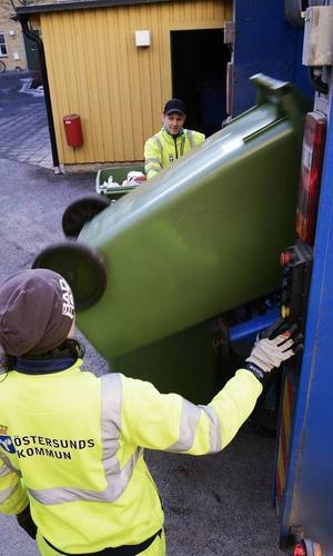 Ulrika Hägglund och Daniel Björklund håller Östersund rent från sopor – soprent.