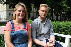 Jessica Bohlin och Rasmus Gozzi debuterar sitt samarbete med låten