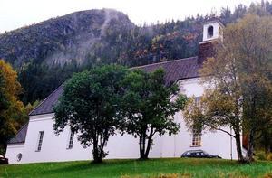 Biskop Eva Nordung Byström gör en officiell visitation i Härjedalens pastorat under nästan två veckor. Arkivbild på Funäsdalens kyrka.
