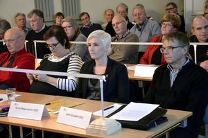 Kristdemokraterna Anna Magnusson och John Sundell röstade olika.
