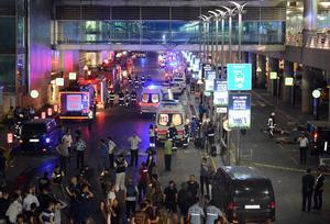 Atatürks flygplats.