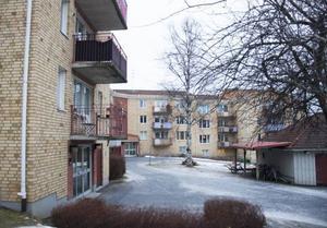 Fastigheten Skogsskiftet på Regementsgatan är en av Diös fastigheter i Östersund som kan komma att ombildas till bostadsrätter.