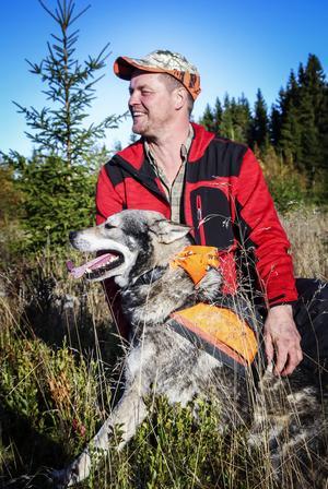 För Tommy Åberg är samspelet mellan hund och hundförare det viktiga.