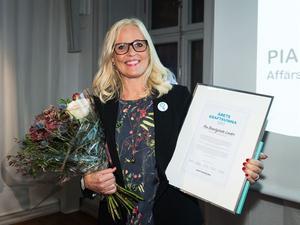 Pia Brantgärde Linder från ABB är Årets kraftkvinna 2017.