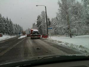 Olycka på riksväg 80 i Grycksbo.