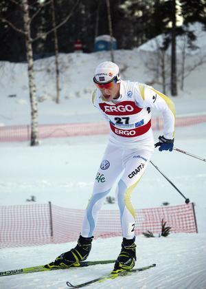 Fredrik Jonsson är nöjd med sin insats i Bruksvallarna.