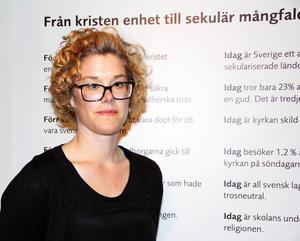 Maria Lindqvist-Isa är museipedagog och kommer att arbeta med skolvisningar under hösten.