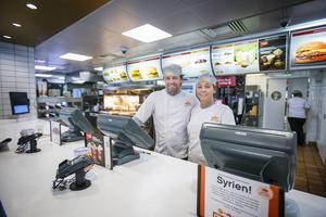 Håkan och Kerstin Engström driver restaurangerna i Gävle