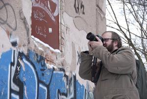 Per Johansson siktar på att bli dokumentärfotograf.