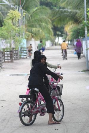 Den inhemska befolkningen på Maldiverna får nästan aldrig besöka resortöarna där turisterna befinner sig. Foto: Andreas Strömberg