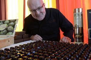 Mats Stockhaus gillar att experimentera med choklad och dess smaker.