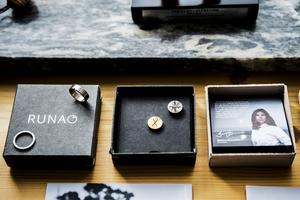Inspirationen till smyckena hämtar Sanna Grannas i Höga kusten.
