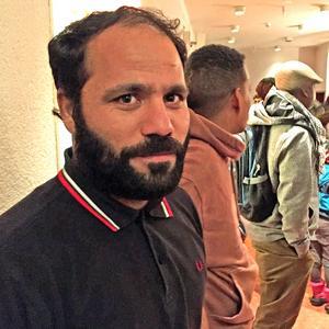 Shafiquallah Afzay har sett teater i hemlandet Afghanistan och är spänd på att se