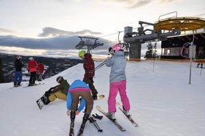 Precis som de två nya liftarna i Åre går Tegeliften nästan ljudlöst, och utsikten från bergstationen är suverän.