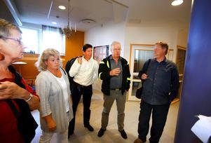 I augusti gjorde dessa upp om skolan: Kia Hamnö (V), Åsa Wennerfors (FP), Robert Johansson (C),Olle Jansson (S) och Mats Wilzén (MP). Senare hoppade Robert Johansson (C) av.