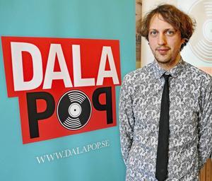 Pelle Andersson är verksamhetsledare för Dalapop.