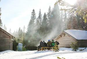 Harsa är ett populärt område för vinterturism och friluftsliv.
