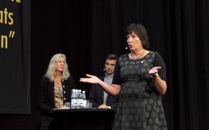 Petra Einarsson önskar mer samarbete med regionens företag.