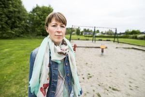 Johanna Snell är en av många Matforsbor som är upprörda över lekparkernas standard.