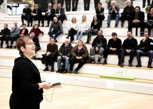 Maria Hilliges, rektor för Högskolan Dalarna
