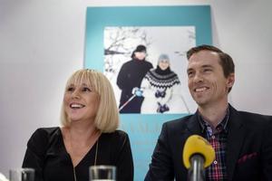 Johan och Anna Olsson med nya boken