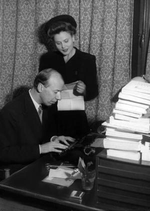 Stig Ahlgren och hustrun Birgit Tengroth, hans öde.