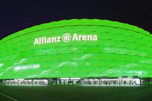 Fotbollstadion i Munchen.