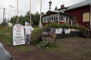 Tidigare låg Makkolabaren i det hus som Ann Louise Danielsson nu har köpt.