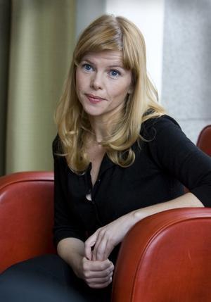Från Dramaten. Skådespelerskan Anna Björk gör huvudrollen i Lögnens pris.
