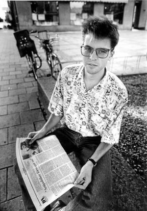 I debatten. På de stora glasögonbågarnas tid. 1990.