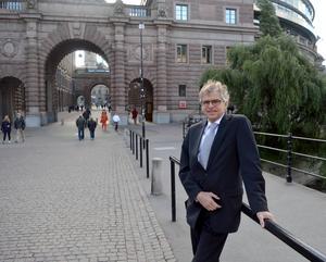 Efter åtta år i riksdagen är Per Åsling (C) i gång med sin tredje mandatperiod – nu i opposition.
