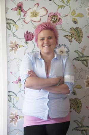 Malin Överby är van att jobba hårt och i dag är hon tacksam över framgångarna med Pink ladies.