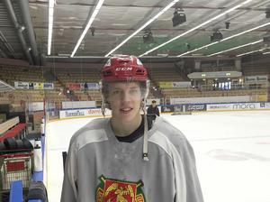 Emil Aronsson har en fantastisk säsong i Mora IK.