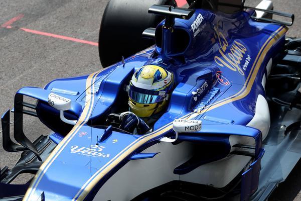 Marcus Ericsson i Monaco (arkivfoto).