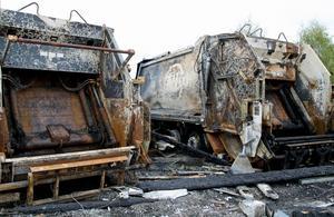 Skadorna på grund av branden beräknas uppgå till flera miljoner kronor.