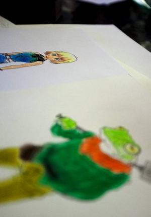 Att teckna Manga har varit ett stort intresse hos Henrik sen han var en liten pojke.