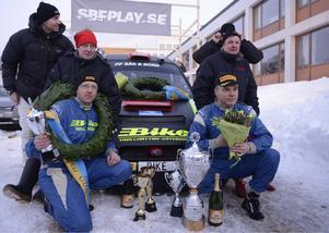 Segrande Mattias Andersson och Jerker Axelsson var överlägsna.