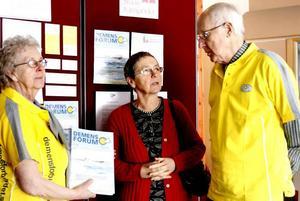 DEMENS. På demensföreningens initiativ har både studiefrämjandet och socialnämnden ställt upp som medarrangörer, men det är demensföreningen som står för huvuddelen av kostnaden.