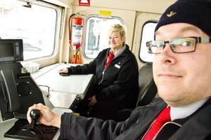 Joakim Törnvall är lokförare åt SJ och Annika Stunis är gruppchef för lokföararna. Ingen av dem kan tänka sig något annat arbete, men de kan tänka sig en del förändringar.