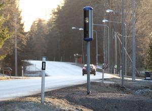 Många tar snabbt hänsyn till hastighetsgränsen när en ny fartkamera sätts upp, enligt Eva Lundbergs erfarenhet.Foto: Harri Sternljung / Arkiv